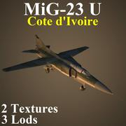 MIG23U KOT 3d model