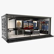 Container winkel 3d model