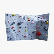 Bouldering Wall 3d model