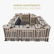Apartamento Residencial Condominio 2 modelo 3d