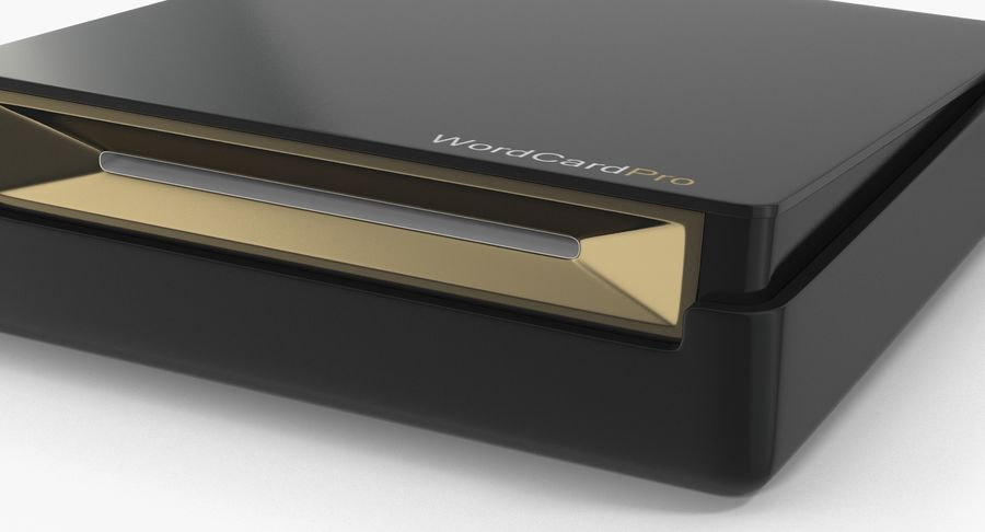 Business Scanners Collection royalty-free 3d model - Preview no. 18