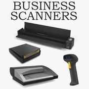 Business Scanners Collection 3d model