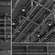 Ventilation au plafond 2 3d model
