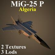 미그 25P ALZ 3d model