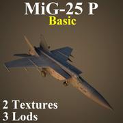 MIG25P 기본 3d model
