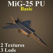 MIG25PU 기본 3d model