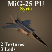 MIG25PU SIR 3d model