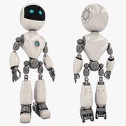 Robot Rigged 3d model