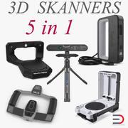 3D 스캐너 3D 모델 컬렉션 3d model