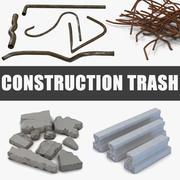 Construction Trash 3D Modelsコレクション 3d model