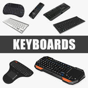 Keyboards 3D Models Collection 3d model