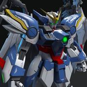 Gundam Wing Zero Custom 3d model