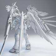 Gundam Wing Zero Custom 3d model