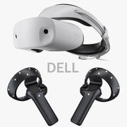 DELL Windows Mixed Reality Set 3d model