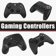 游戏控制器集合 3d model
