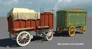 Circus Wagon 3d model