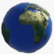 Earth Globe HD 3d model