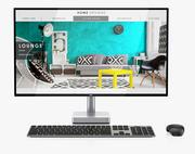 Dell Monitor S2718D +ワイヤレスキーボードおよびマウス 3d model