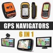 Nawigacja GPS Kolekcja modeli 3D 3d model