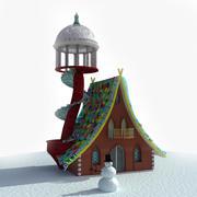 Дом фантазии 3d model
