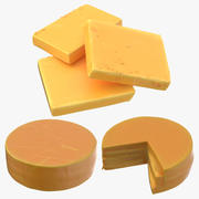 Cheddar Cheese 3d model