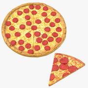 Ломтик пиццы 3d model