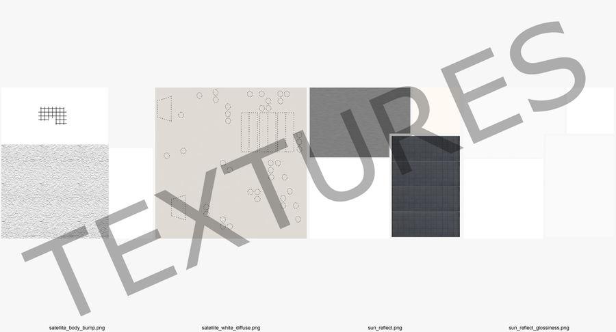 통신 위성 royalty-free 3d model - Preview no. 13