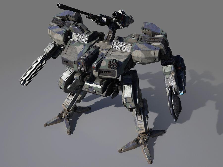 FM Bot royalty-free 3d model - Preview no. 14