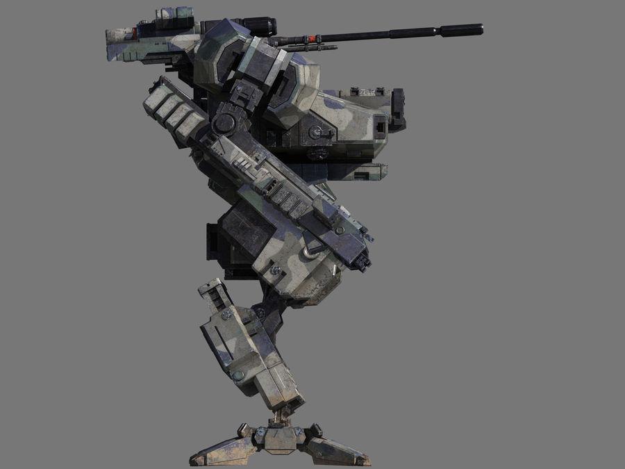 FM Bot royalty-free 3d model - Preview no. 19