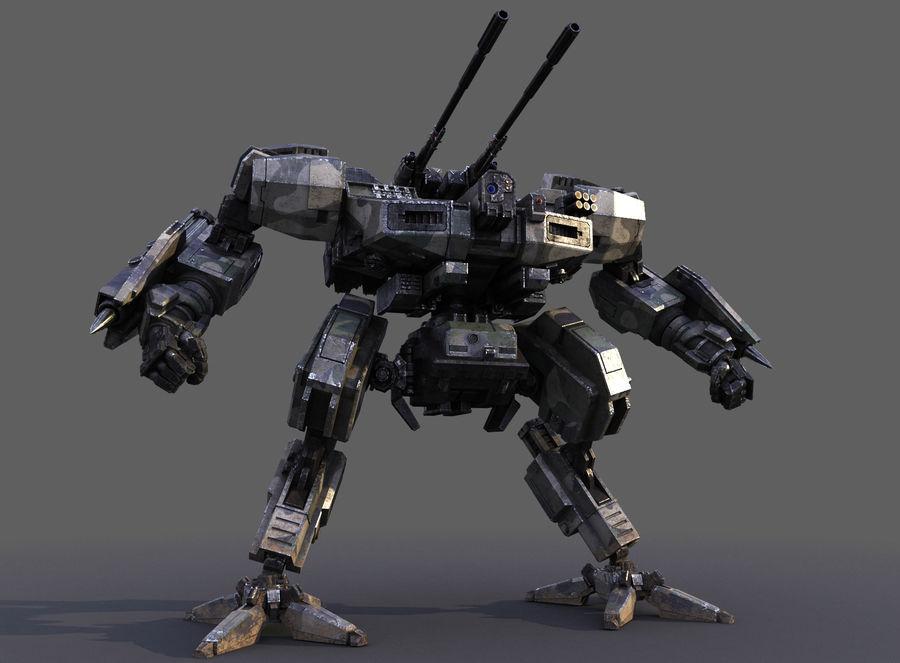 FM Bot royalty-free 3d model - Preview no. 15
