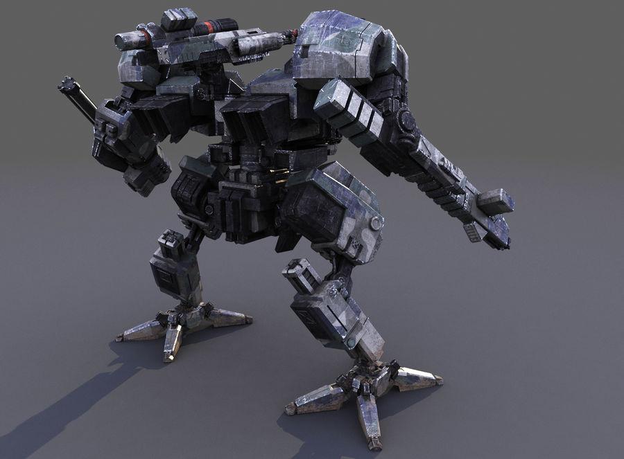 FM Bot royalty-free 3d model - Preview no. 8