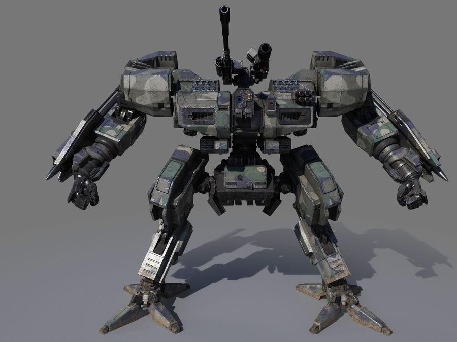 FM Bot royalty-free 3d model - Preview no. 3