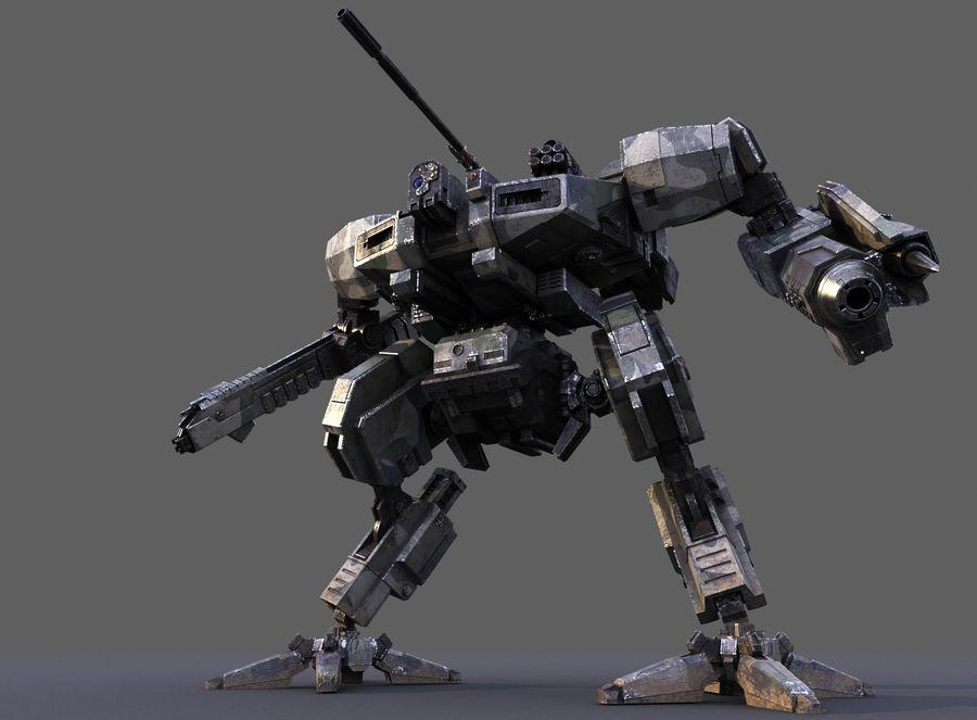 FM Bot royalty-free 3d model - Preview no. 10