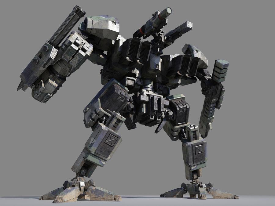 FM Bot royalty-free 3d model - Preview no. 9