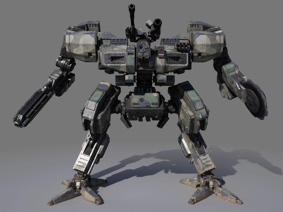 FM Bot royalty-free 3d model - Preview no. 5
