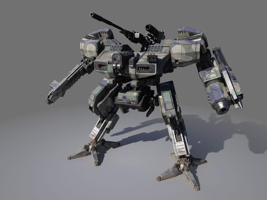 FM Bot royalty-free 3d model - Preview no. 7