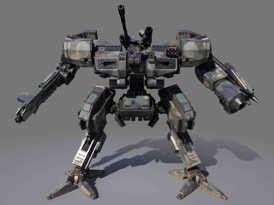 FM Bot royalty-free 3d model - Preview no. 4