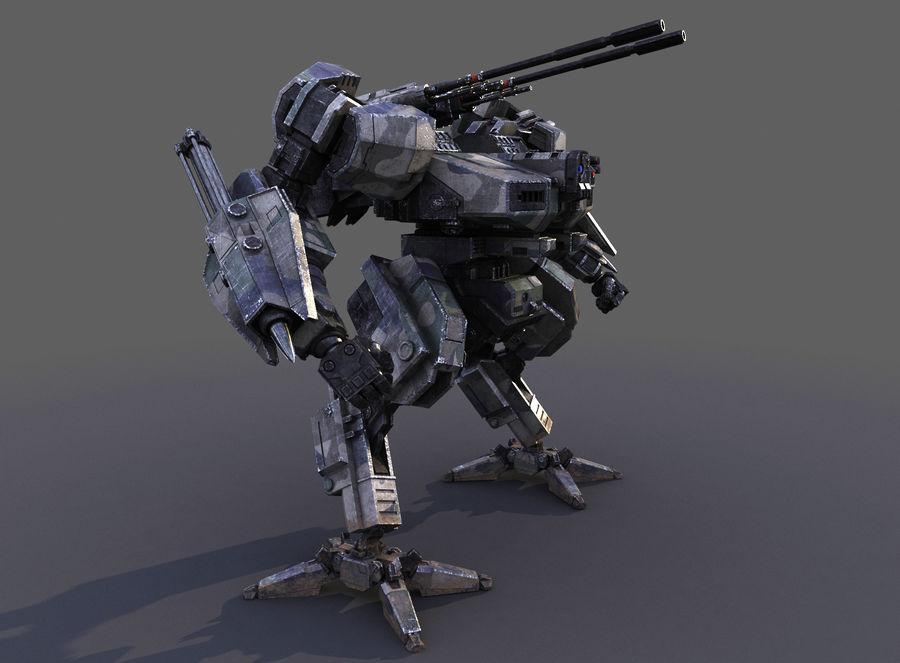 FM Bot royalty-free 3d model - Preview no. 16