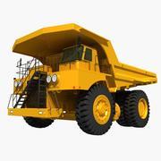 Mining Dump Truck 3d model