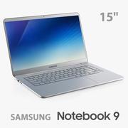 Samsung Notebook 9 15 pouces 2017-2018 3d model