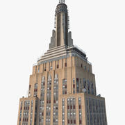 Empire State Building HD 3d model