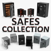 Safes 3D Models Collection 2 3d model