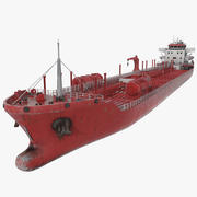 화학 유조선 3d model