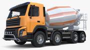 Zementmischer Fahrzeug 3d model