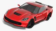 Samochód sportowy 3d model