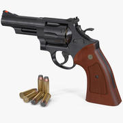 "Smith & Wesson Model 29 4"" 3d model"