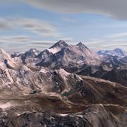 エベレスト 3d model