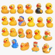 Rubber Duck Ultra Pack 01 3d model