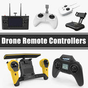 Drone Piloty zdalnego sterowania Kolekcja modeli 3D 3d model