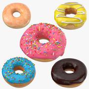 Colección Donuts modelo 3d
